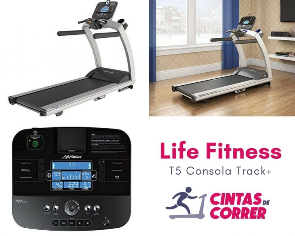 Oferta cinta de correr Life Fitness T5 Track+